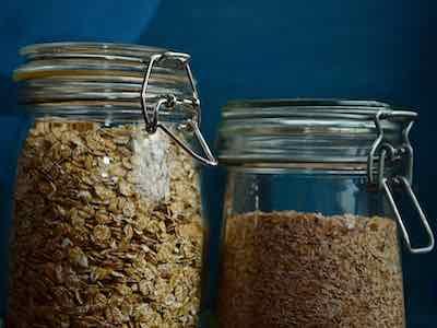 Müsli selber machen Getreideflocken