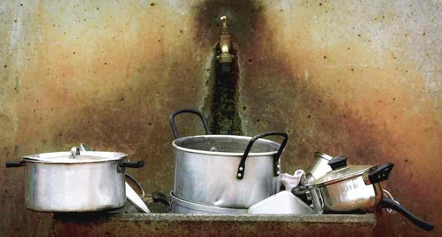 Waschsoda-Anwendung Küche