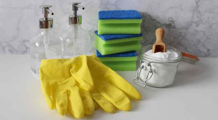 Waschsoda-Anwendung Haushalt